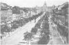 Václavské náměstí kolem roku 1875
