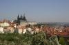Petřín - pohled na Pražský hrad