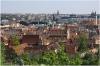 Praha 1 - Anežský klášter, pohled z Letné