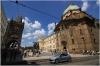 Křižovnické náměstí - vlevo Staroměstská mostecká věž