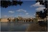 Panorama Pražského hradu - pohled od Smetanova nábřeží