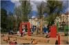 Dětské hřiště na Slovanské ostrově