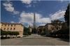 Náměstí pod Emauzy a pomník Legionářům