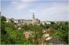 Kutná Hora - celkový pohled od chrámu sv. Barbory