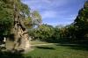 Vyšehrad - park před kapitulním chrámem