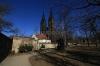 Vyšehrad - kapitulní chrám sv. Petra a Pavla
