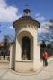 Vyšehrad - sochy - socha sv. Ludmily v kapličce