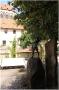 Františkánská zahrada - prameník v podobě chlapce s mušlí