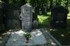 Nový židovský hřbitov - hrob Franze Kafky