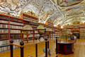 Strahovská knihovna a sbírka knih v Teologickém a Filozofickém sále