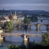 Pražské mosty objektivem Richarda Homoly
