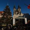 Slavnostní rozsvícení vánočního stromu na Staroměstském náměstí v Praze