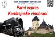 Parním vlakem na Karlštejnské vinobraní