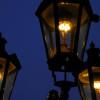 Lampář na Karlově mostě