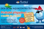 Den dětí v Aquacentru Šutka - Námořnické přepadení