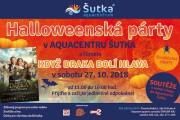 Halloween párty v Aquacentru Šutka