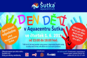 Den dětí v Aquacentru Šutka