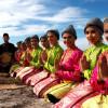 Festival indonéské kultury na nádvoří Náprstkova muzea