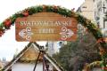 Svatováclavské trhy na Václavském náměstí