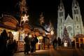 České vánoční trhy na náměstí Míru