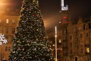 Rozsvícení vánočního stromku Prahy 3