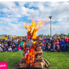 Čarodějnice 2019 v Centrálním parku na Pankráci
