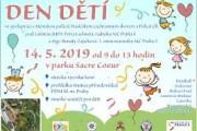 Dětský den v parku Sacre Coeur