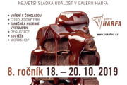 Čokoládový festival v Galerii Harfa 2018