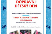 Dopravní dětský den na Koupališti Ládví