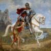 Lidový rok - Sv. Martin na bílém koni a dušičky