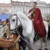 Svatomartinská slavnost na náměstí Jiřího z Poděbrad