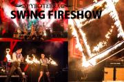 Ohňová show Pyroterra