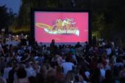 Letní kino ve Žlutých lázních