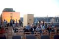Letní kino na střeše Veletržního paláce