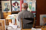 Karel Benetka - obrazy a kreslený humor