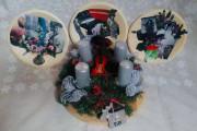 Workshop koláže - Talíře a vánoční ozdoby pro rod Thunů