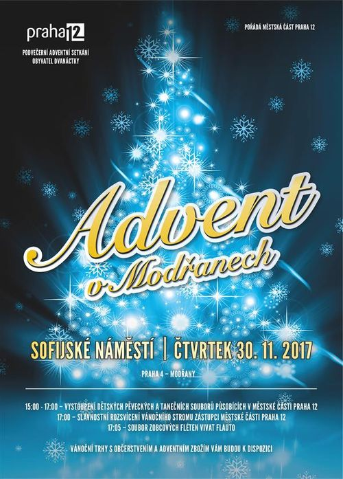 Advent v Modranech