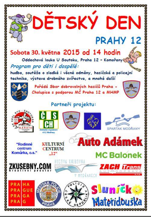 Detsky den Praha 12