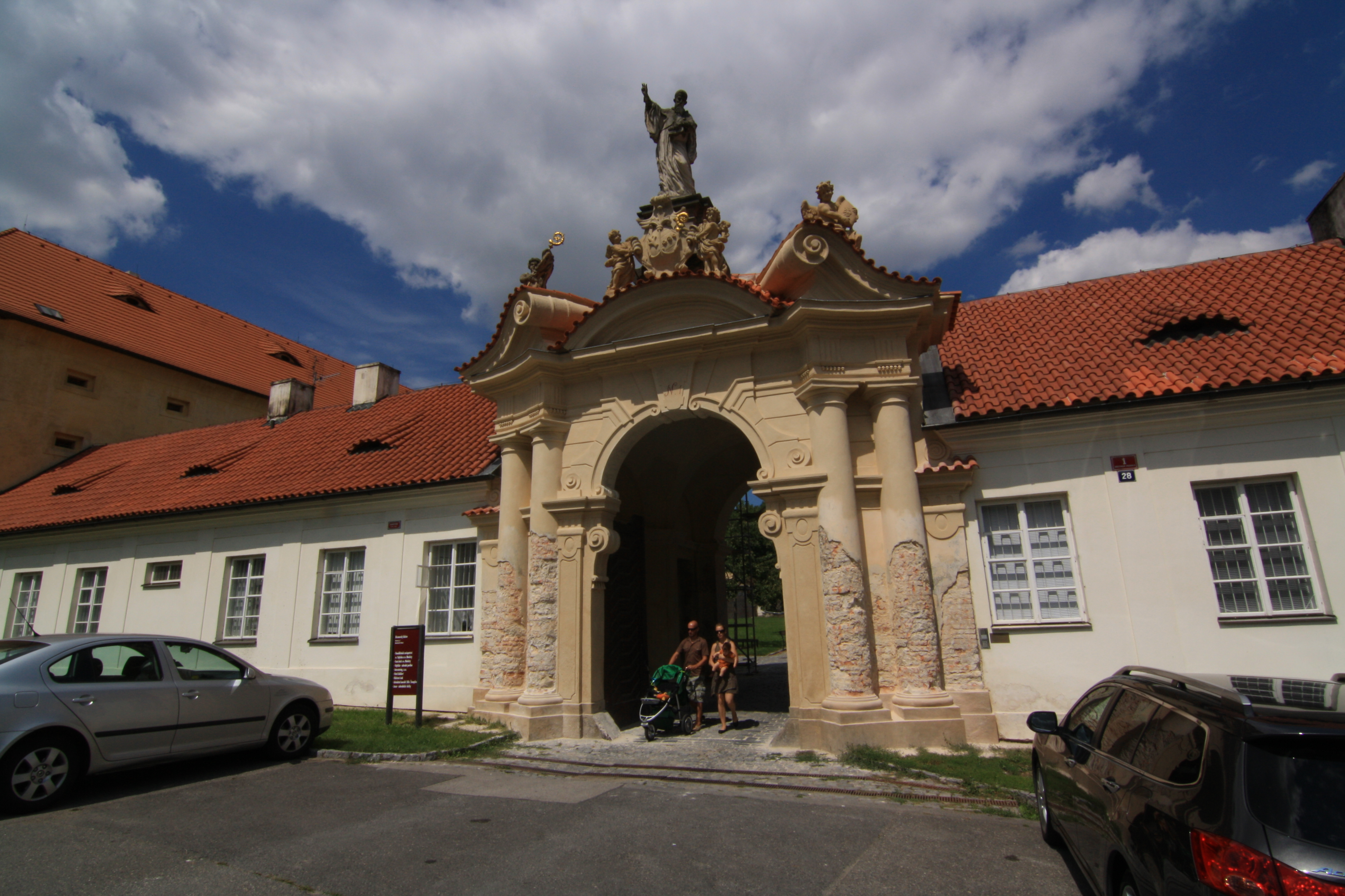 Břevnovský Klášter Praha Břevnovský Klášter