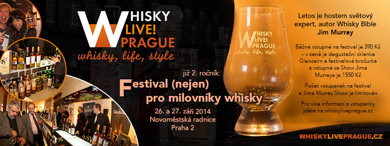 Whisky festival Prague 2014
