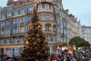 Vanocni strom Praha 7