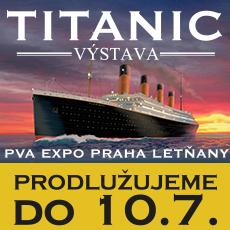 Výstava Titanik