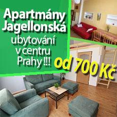 ubytování Jagellonská