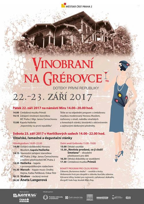 Vinobrani na Grebovce_program