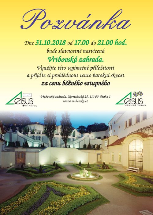 Vrtbovska zahrada_pozvanka