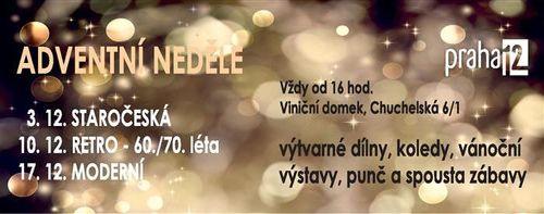 Adventni nedele Praha 12