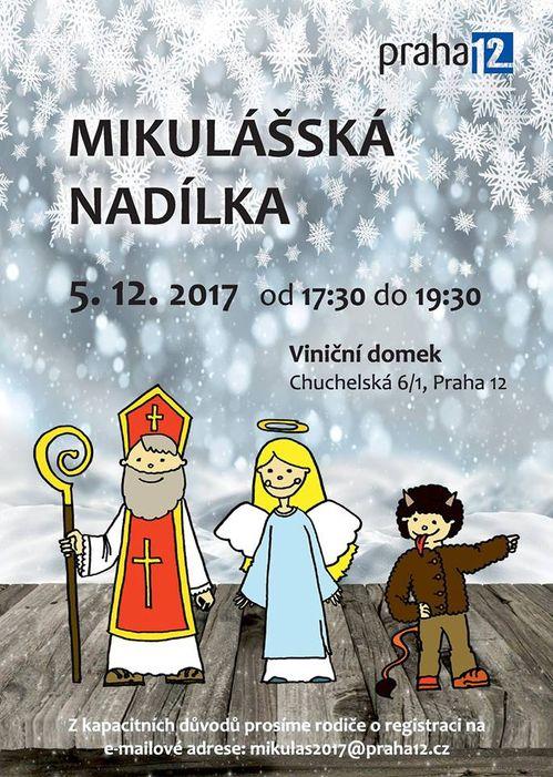 Mikulasska nadilka Praha 12