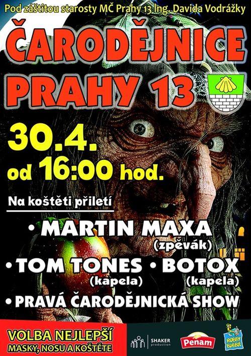 Carodejnice Praha 13