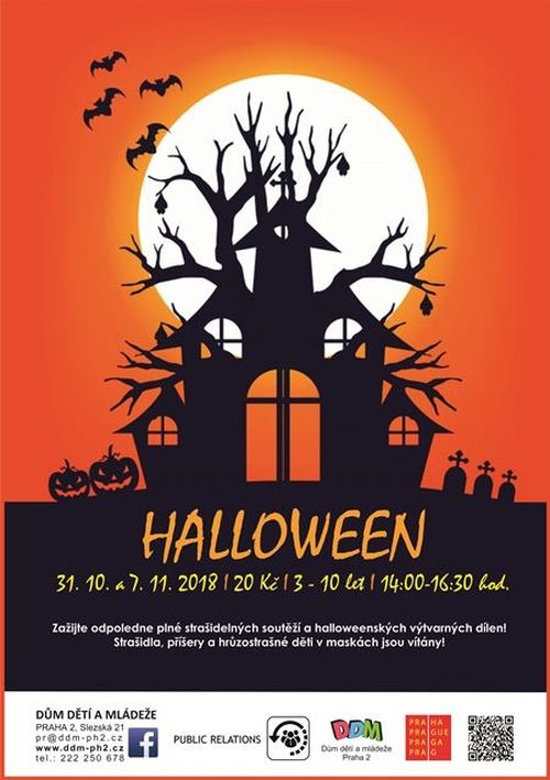 Halloween DDM Praha 2