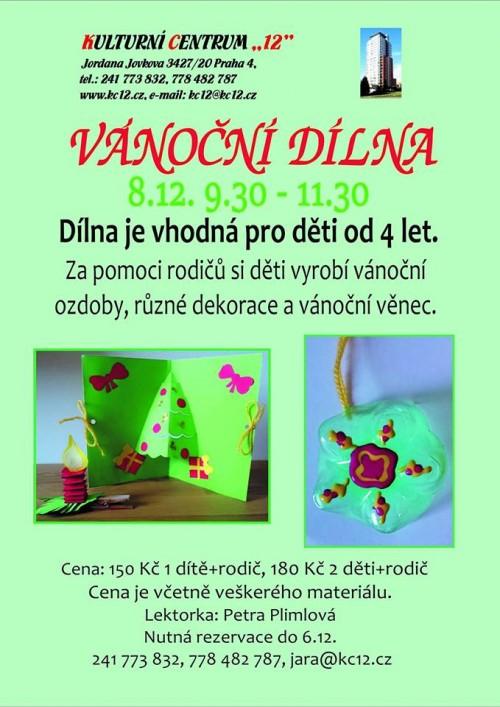 VanocniDilna